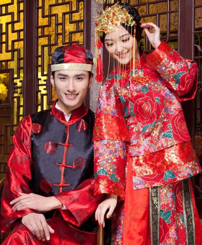 82077046c Chinese style Xiuhe suits dresses Marriage Wedding outfits in 2019 ...