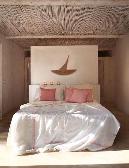 decor, interior, bedroom, white, pink,