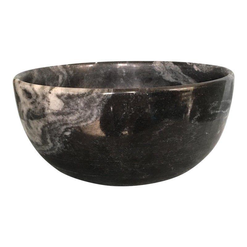 Black Marble Bowl Marble Bowl Black Marble Bowl