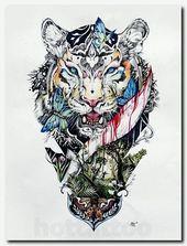 Photo of #death #Forearm #memorial #Pocket #Tattoo #tigertattoo