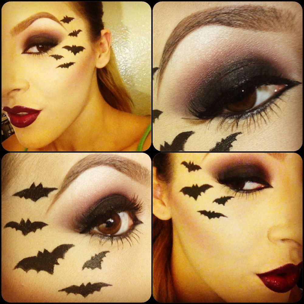 Images For > Bat Costume Makeup | Halloween Costumes | Pinterest ...