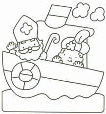 Kleurplaten Sint En Piet Peuters.Kleurplaat Sinterklaas Peuters Google Zoeken Thema Jules Bij