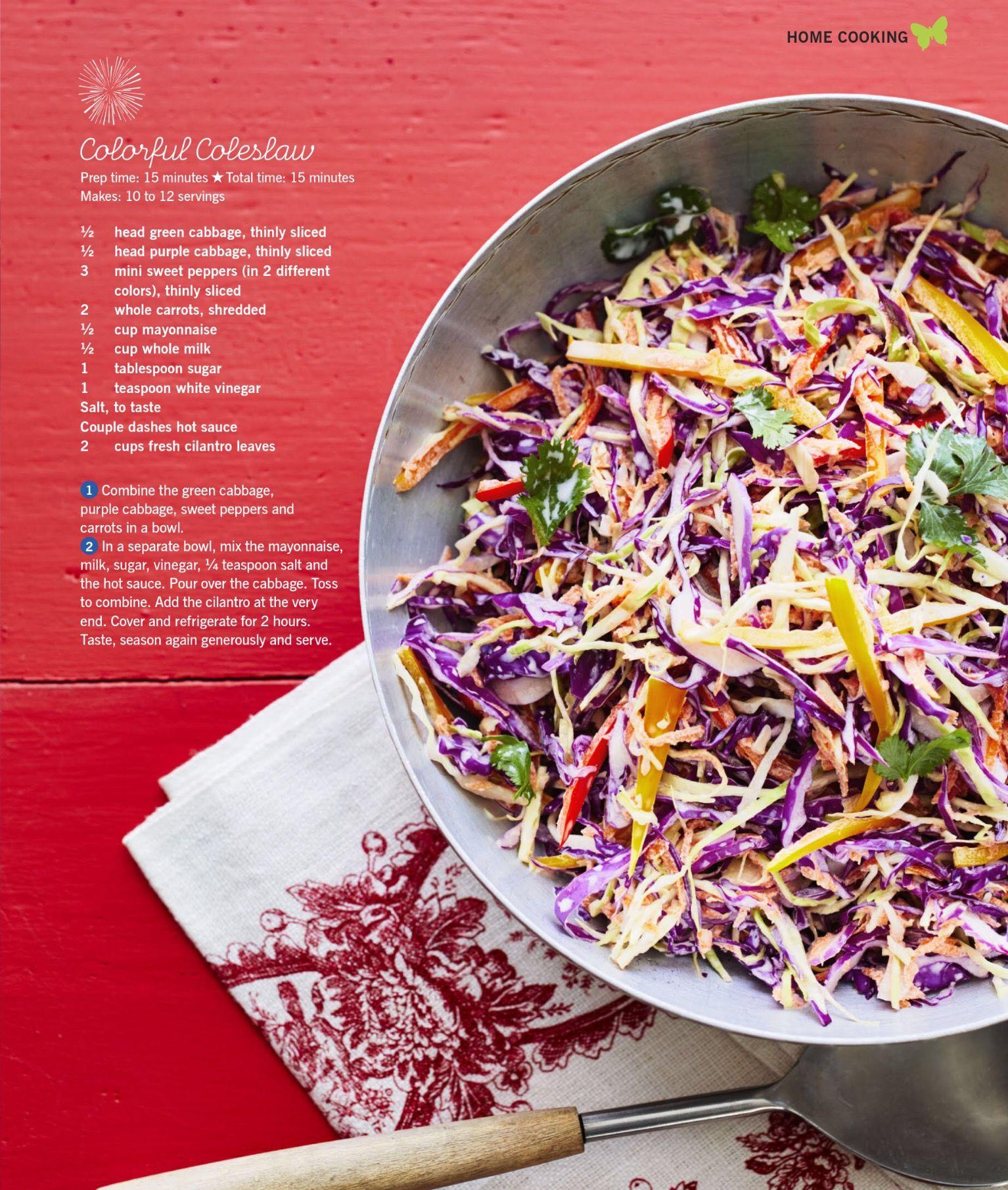 Pioneer Woman Colorful Coleslaw Coleslaw Recipe Pioneer Woman Coleslaw Barbeque Recipes