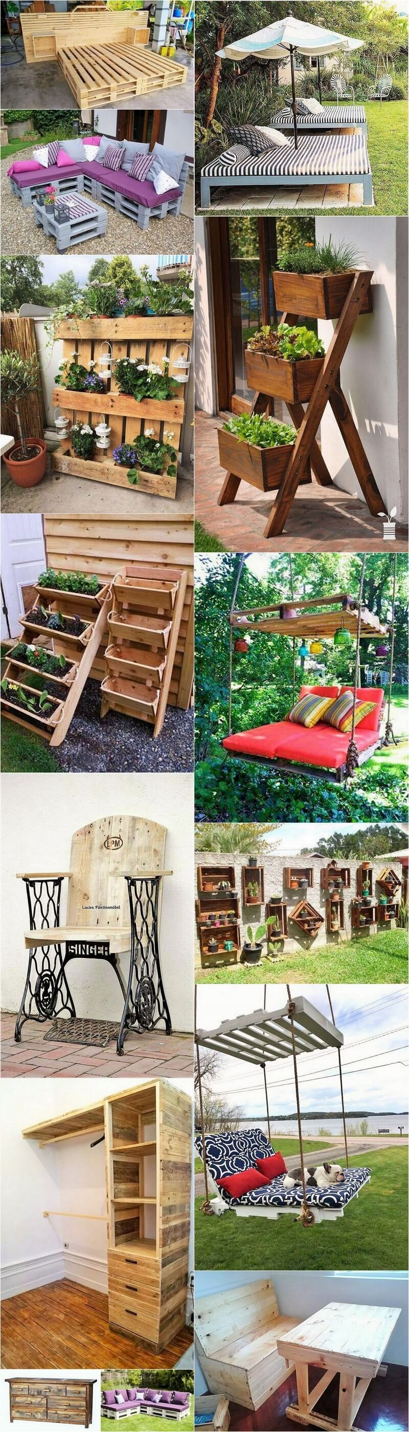 DIY Must Try Ideas From The Wooden Pallet
