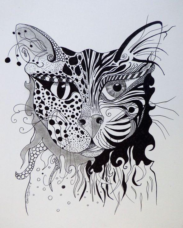 Dualite - duality (avec images) | Dessin chat, Dessin, Renard