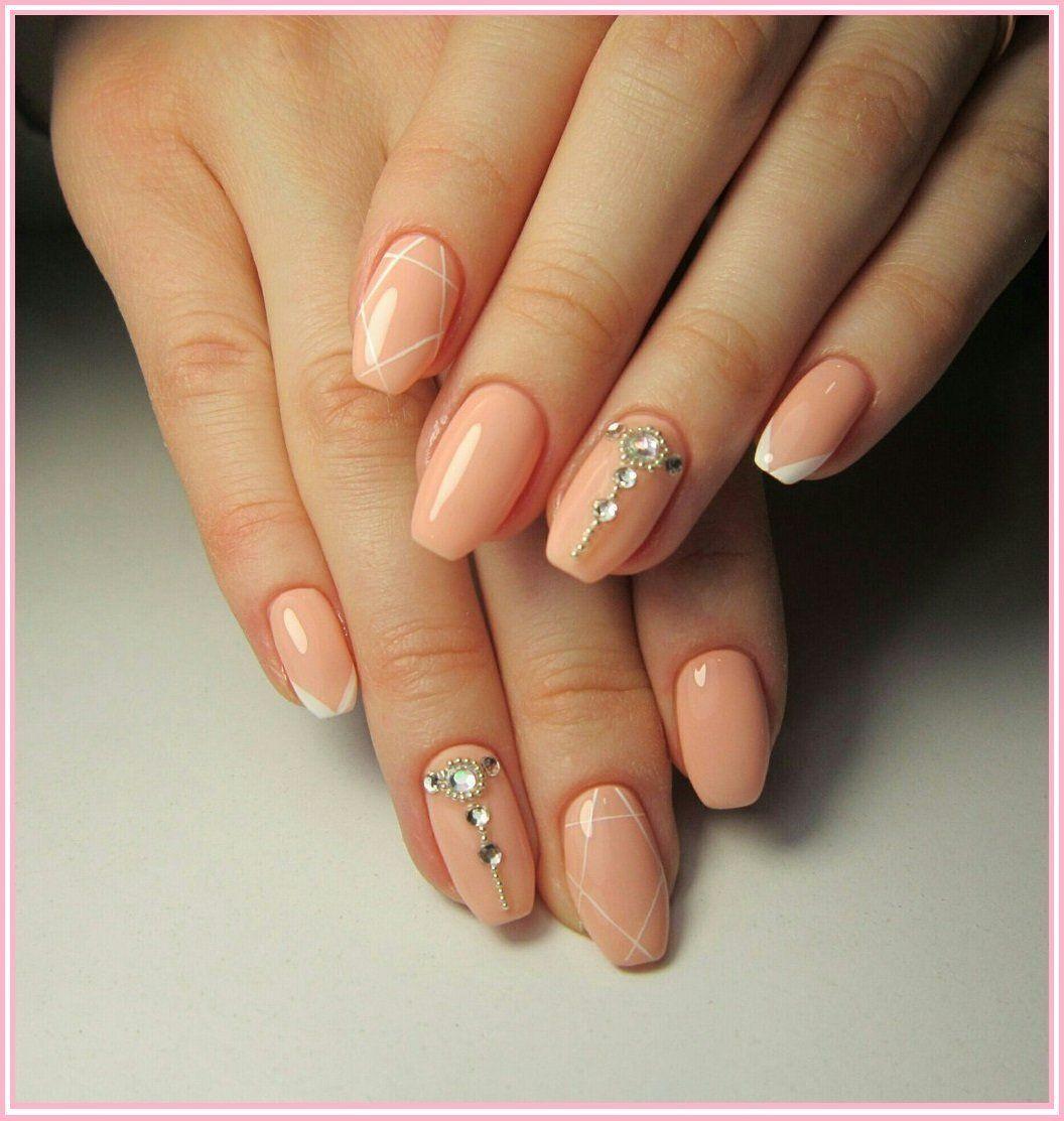 HMs wedding nails | Diamond nail designs, Nail art