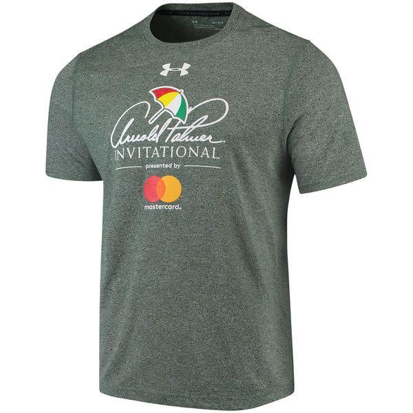 5889c553 Arnold Palmer Invitational Under Armour Threadborne T-Shirt – Heathered  Green