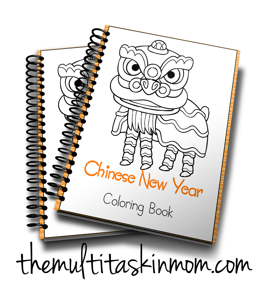 Chinese New Year Coloring Book Coloring books, Chinese