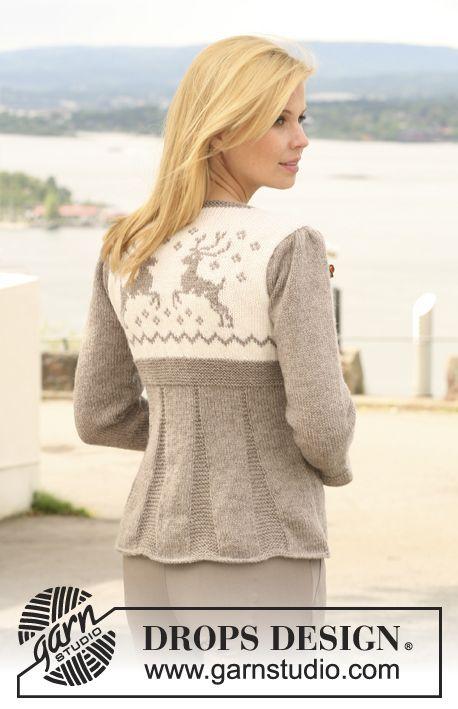 Free knitting pattern | Юрке | Pinterest | Chaqueta de punto ...