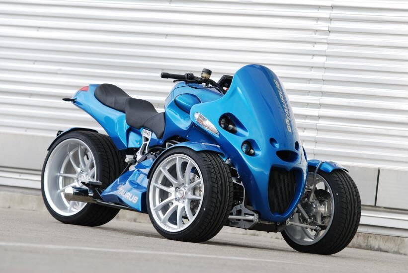 You may recall an article we had about two and a half years ago that showed you the GG Taurus, a BMW powered reverse trike from Switzerland. It looked pretty nice, but it was a no show in the USA. ...