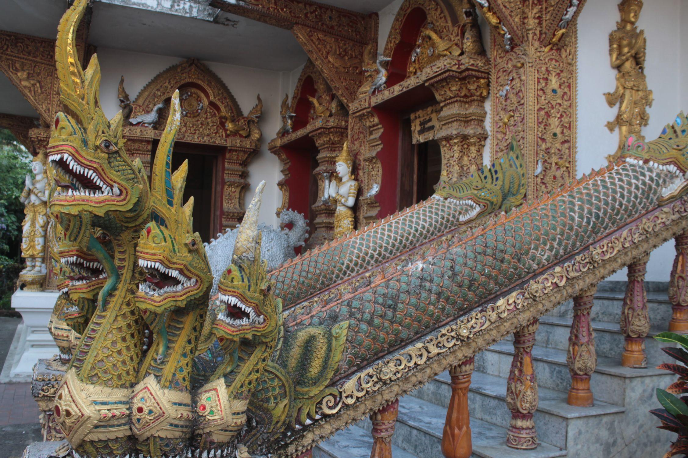 Detalle templo, Chiang Mai