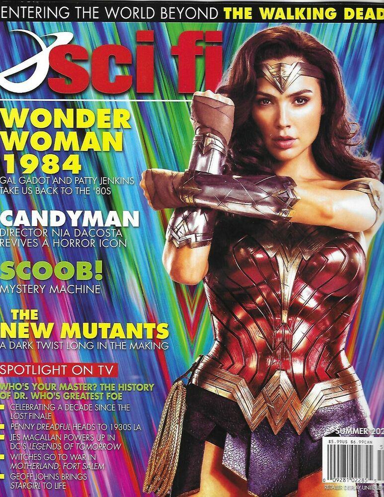 Sci Fi Magazine Wonder Woman 1984 The New Mutants Candyman Scoob Stargirl 2020 In 2020 Wonder Woman The New Mutants Wonder