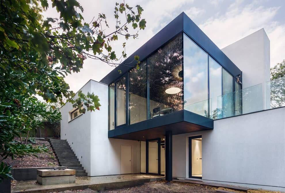Extension maison contemporaine