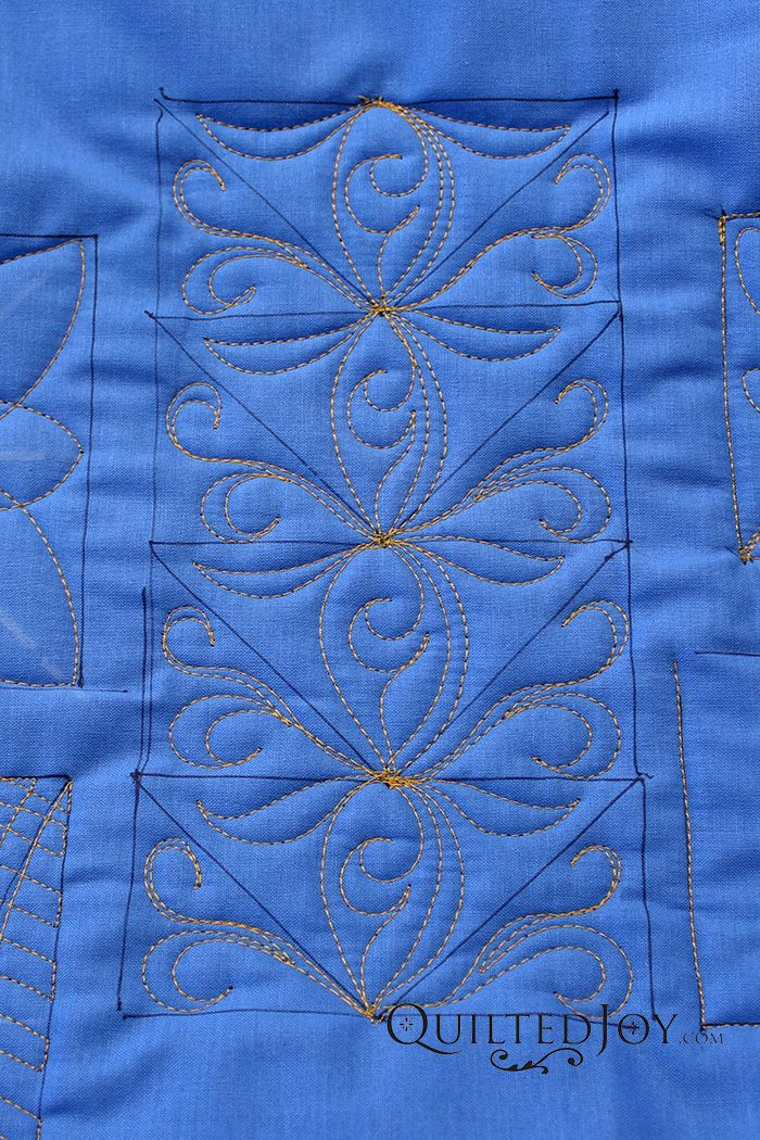 Longarm Guild All About Flying Geese Quilting Designs