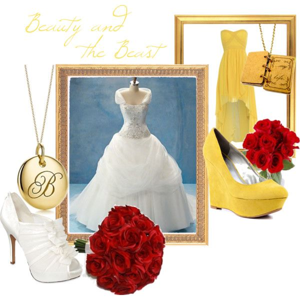 """""""Beauty And The Beast Wedding"""" By Jami1990 On Polyvore"""