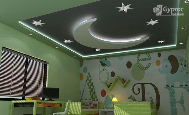 Saint gobain gyproc hindistan oda tavan tasar mlar ya am for Children bedroom designs india