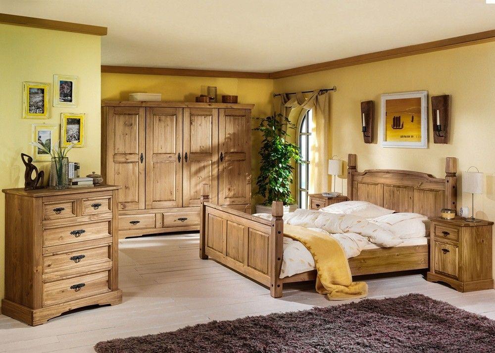 Landhausmöbel Schlafzimmer ~ Landhaus schlafzimmer mexican henke möbel kiefer massiv antik
