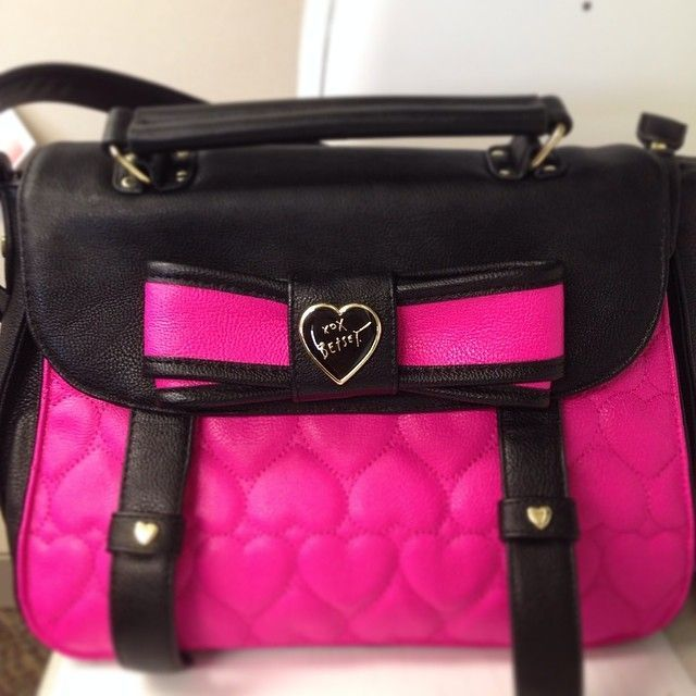 Betsey Johnson Purse I Love Them Because They Are Bold Where