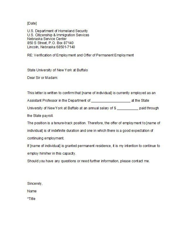 Free Employment Verification Letter from i.pinimg.com