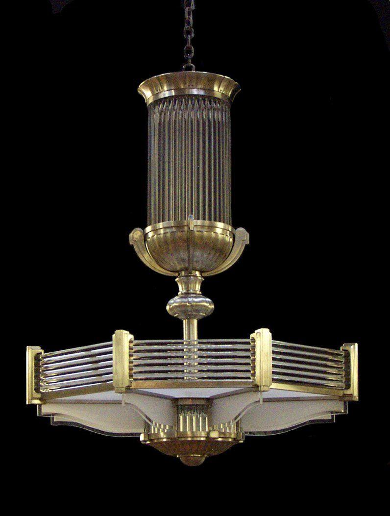 Ralph Lauren Art Deco style chandelier Illumination – Art Deco Chandelier Lighting