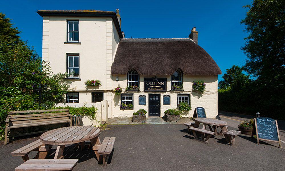 The Old Inn, Mullion, Cornwall, The Lizard Heritage Coast