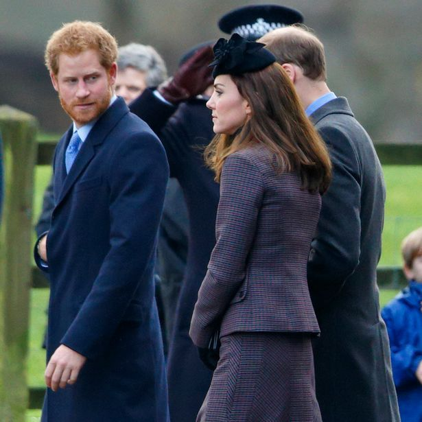 Prince Harry Christmas 2015