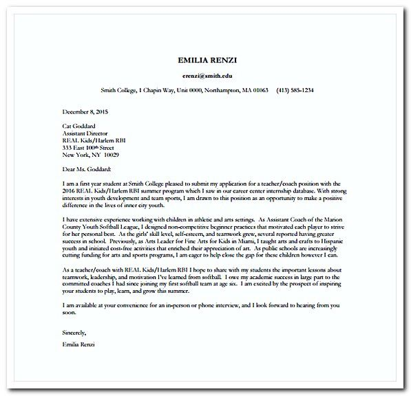 Cover Letter Examples For Internships Cover Letters For Resumes Free Everything You Need Know How Resume .