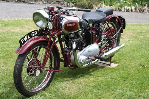 Triumph Speed Twin 1937 6 Stud For Sale Bikes Classic Bikes