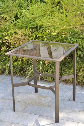 Backyard Creations Patio Awnings: Backyard Creations Branson Steel Side Table At Menards