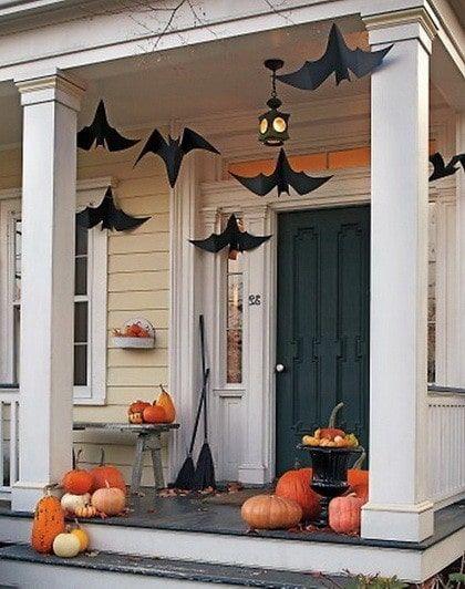 42 Fun Halloween  Fall Decorating Ideas - Wreaths, Pumpkins
