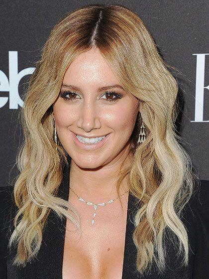 Celebrity Hair Changes - Ashley Tisdale signature golden blonde   allure.com