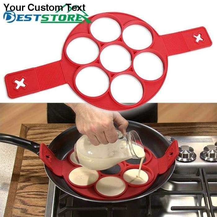 Pancake Maker Egg Ring Maker Nonstick Easy Fantast