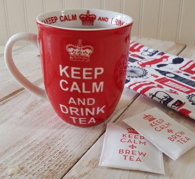 970042547549f3152600867bcea0d65d - Keep Calm And Carry On Gardening Mug