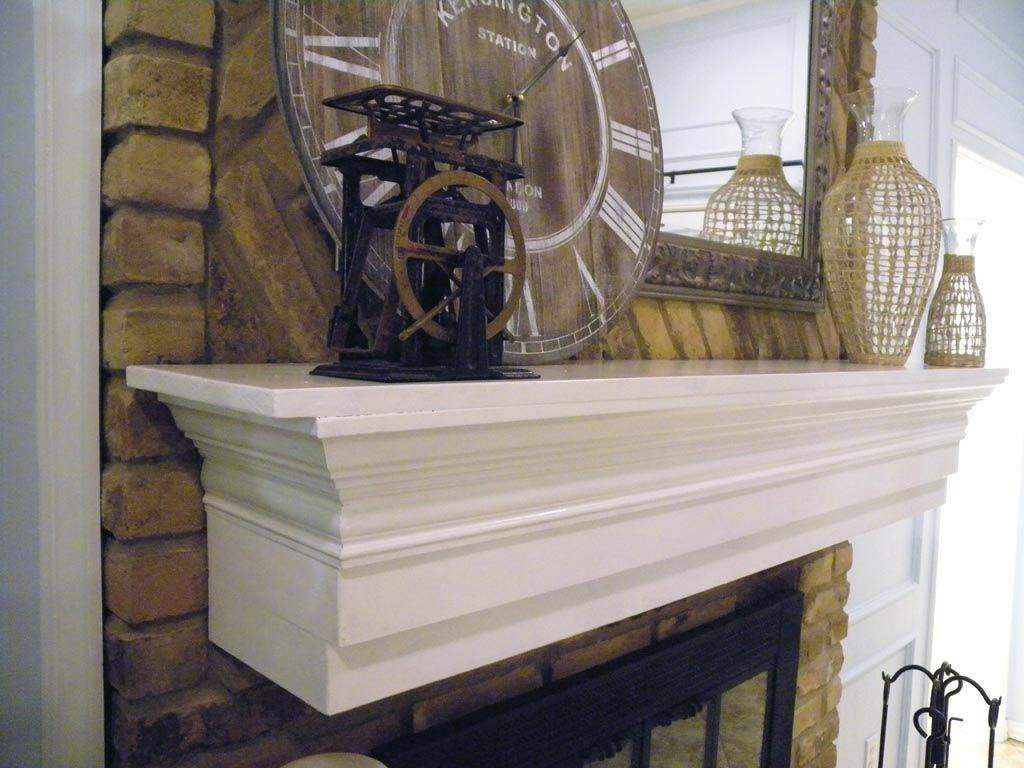 diy fireplace mantel shelf | fireplace | pinterest | fireplace