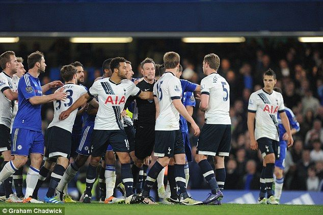 Chelsea and Tottenham fines reduced on appeal with both clubs warned over future conduct following battle of Stamford Bridge