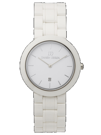 The new ceramic ladies watch collection from Danish Design are beautiful as fresh snow - and tell the time - who could ask for more?