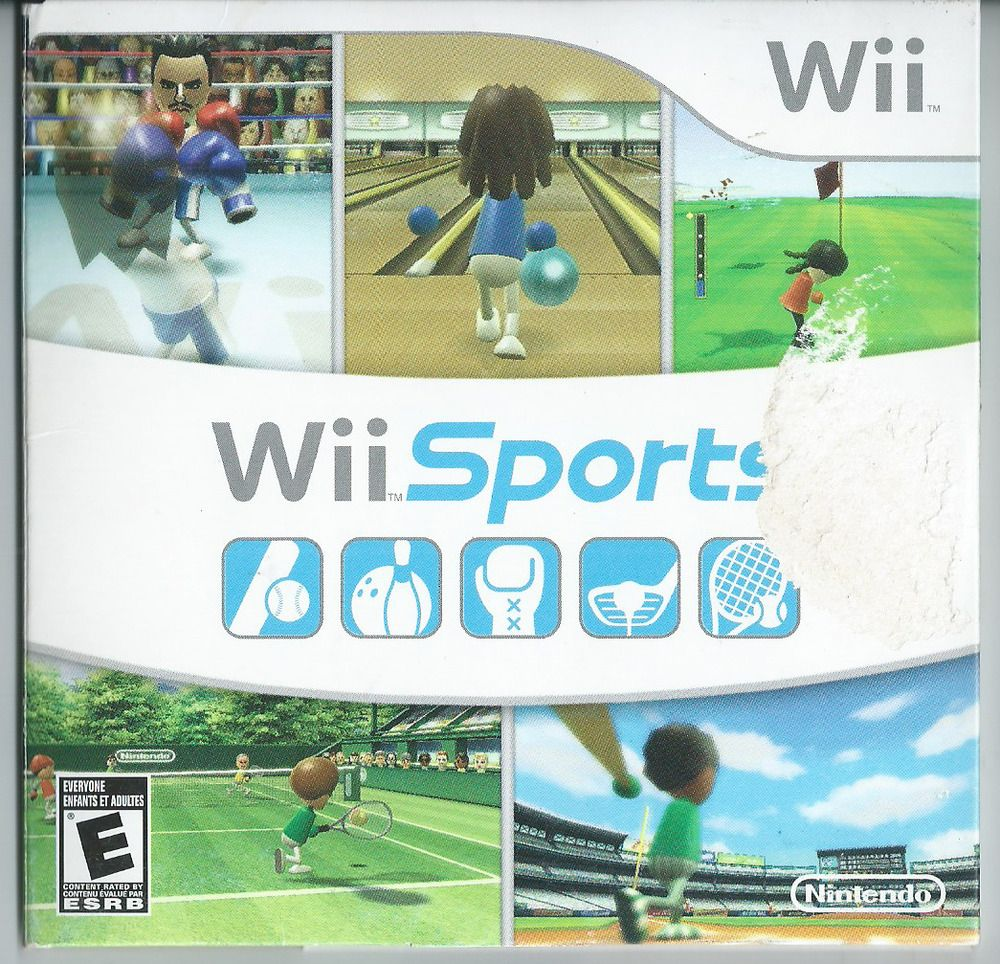 Wii Sports (Wii, 2006) Complete. in 2020 Wii sports