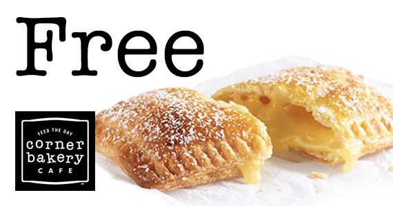 Free Twisted Lemon Hand Pie From Corner Bakery Deals Corner