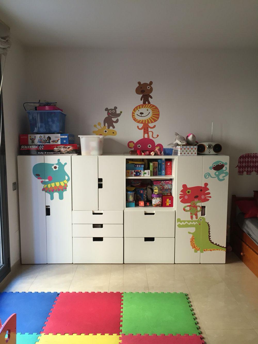 Ikea Stuva Kids Room Nuria Antonijoan Kinder Zimmer