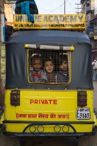 India School Bus India Culture India School Amazing India