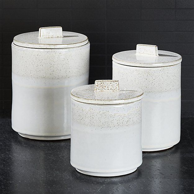 Mason Rustic Kitchen Canisters Crate And Barrel