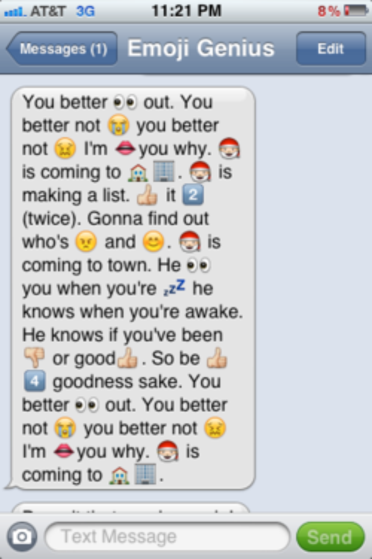 16 Song Lyrics Cleverly Translated Into Emoji Text Messages Emoji Texts Funny Mom Texts Messages Funny Emoji Texts