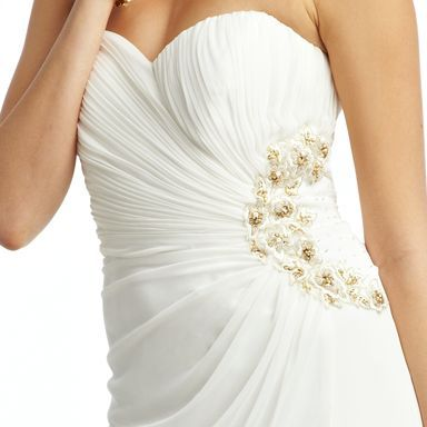 Mesh Strapless Dress from Camille La Vie and Group USA