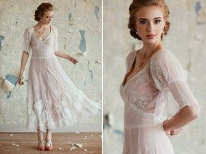 A vintage frock to enchant your wedding guests, by Ruche