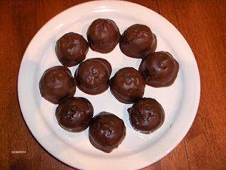 gluten free chocolate cookie dough truffles