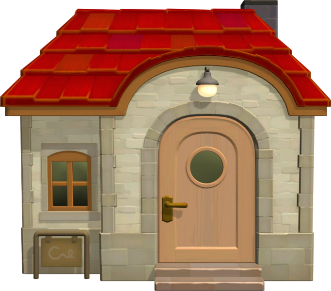 File House Of Merengue Nh Model Png Animal Crossing Wiki Nookipedia House Designs Exterior Exterior Design House Exterior