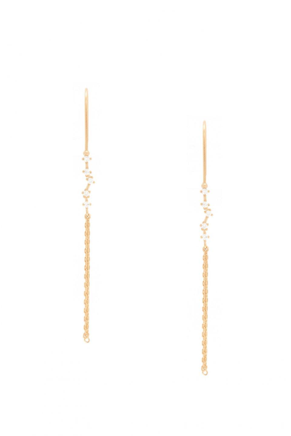 Rue Gembon - Rue Gembon Cabie Gold Earrings | jewellery ...