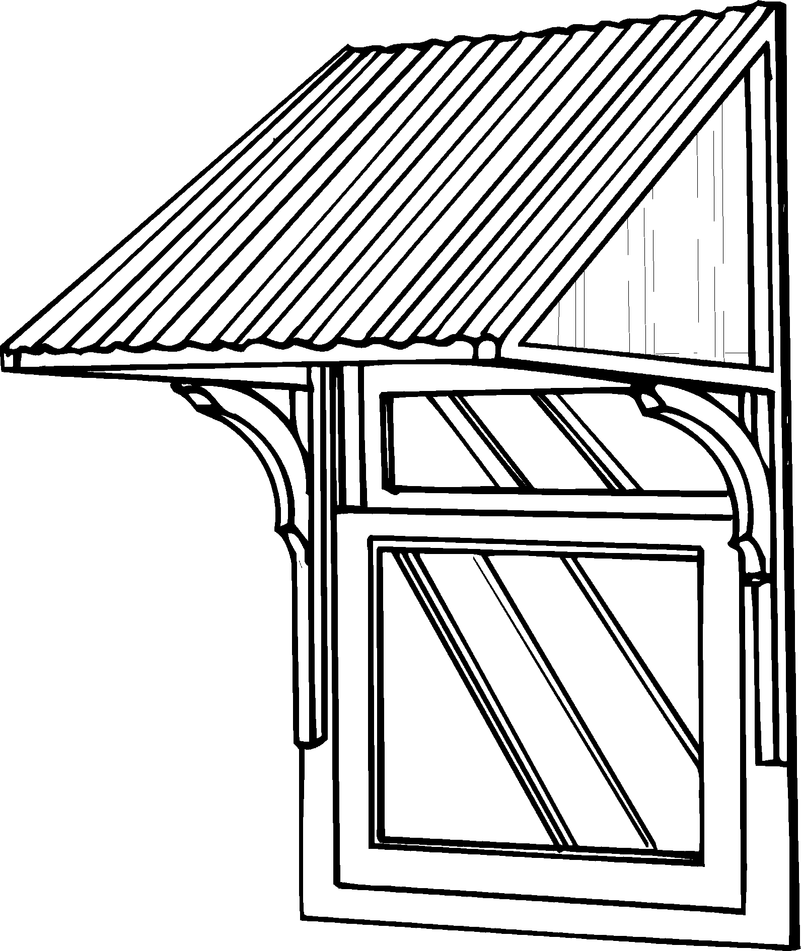 Heritage Door And Window Canopy Brackets Bunnings Warehouse