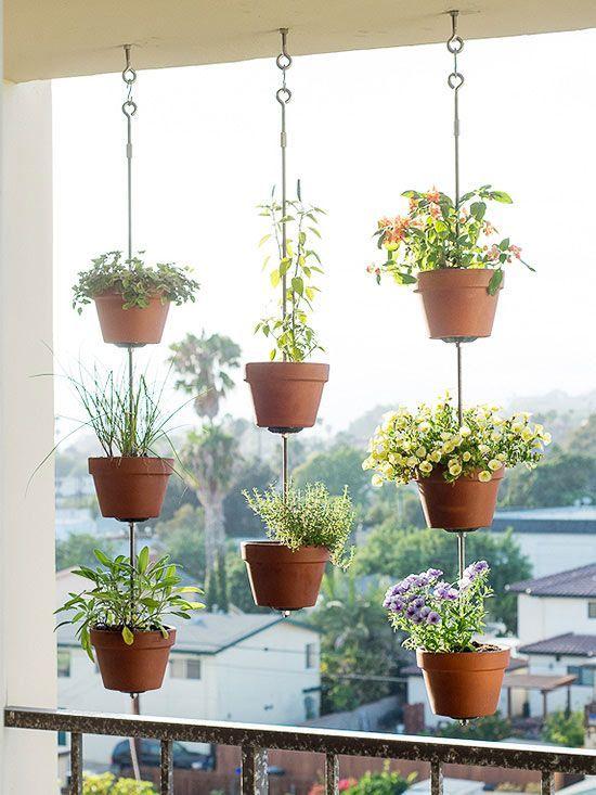 15 astuces pour cr er un jardin vertical sur votre petit - Comment faire un jardin vertical ...