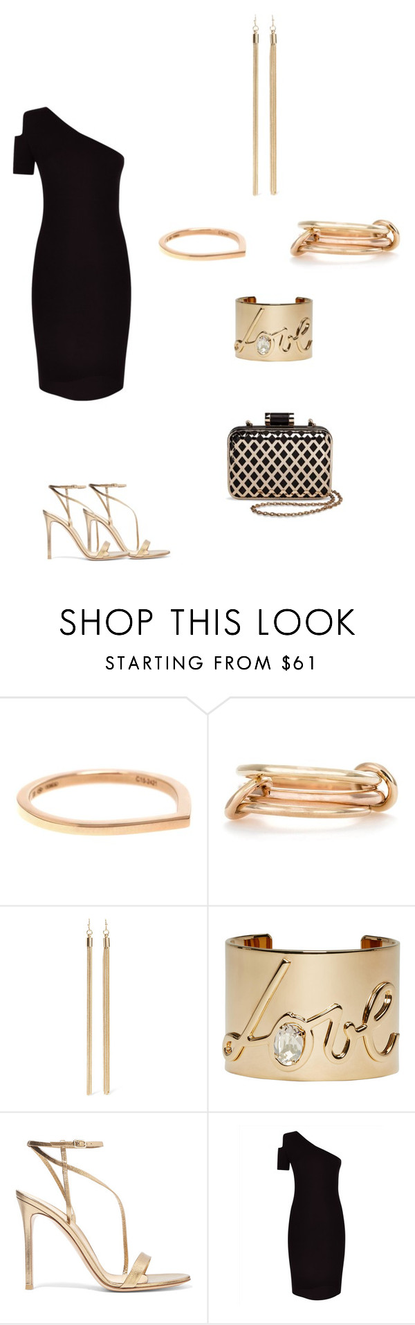 """""""Untitled #289"""" by paty8797 ❤ liked on Polyvore featuring Repossi, SPINELLI KILCOLLIN, Kenneth Jay Lane, Lanvin, Gianvito Rossi, Jaeger and Tevolio"""